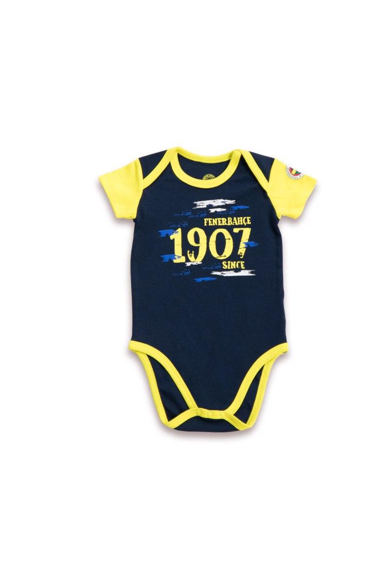 Fenerbahçe Lisanslı Erkek Bebek Body Lacivert